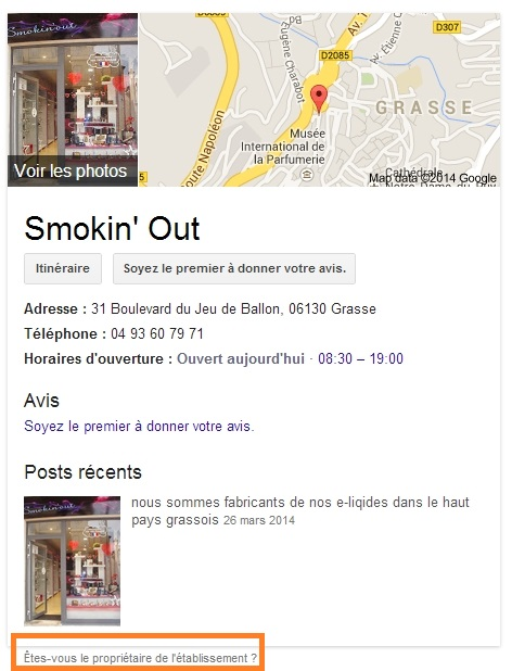 Google Plus Local Smokin Out